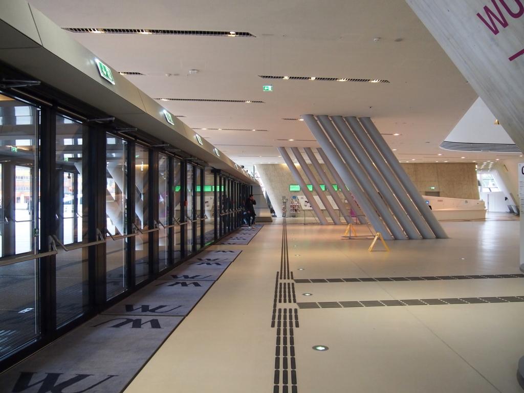 ウィーン経済大学_図書館_エントランス