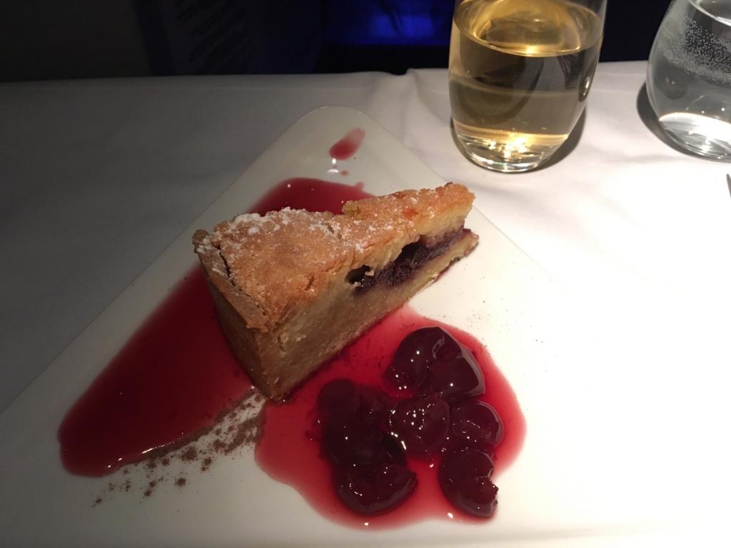 オーストリア航空-機内食-デザート