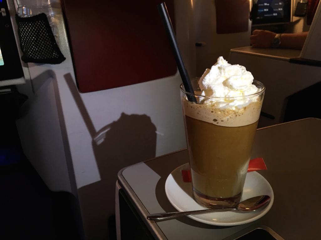 オーストリア航空-機内食-カフェ