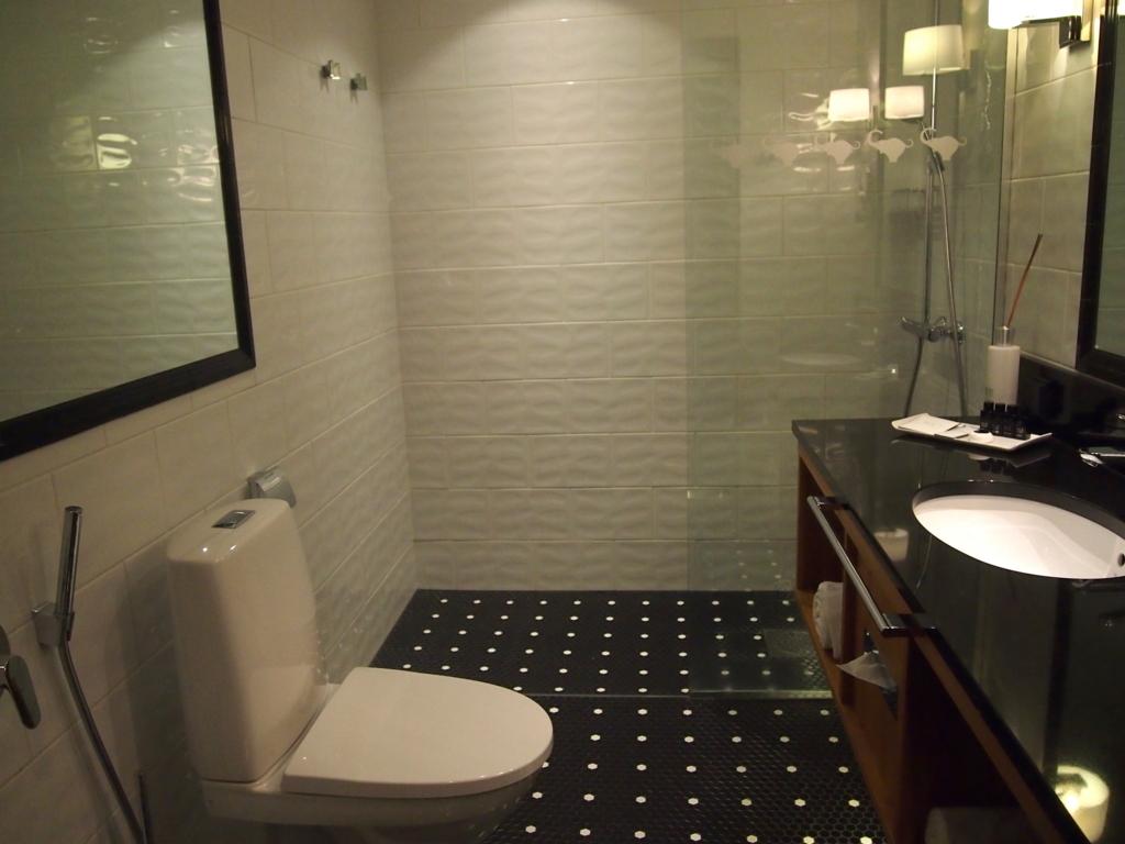 ヘルシンキホテル-リラロバーツ-シャワー