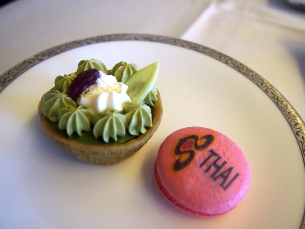 タイ国際航空-ファーストクラス-デザート