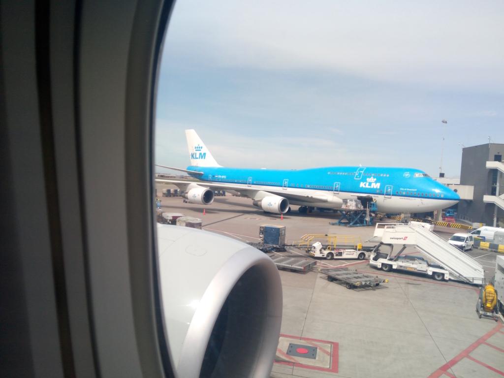 アムステルダム-KLM-ジャンボ