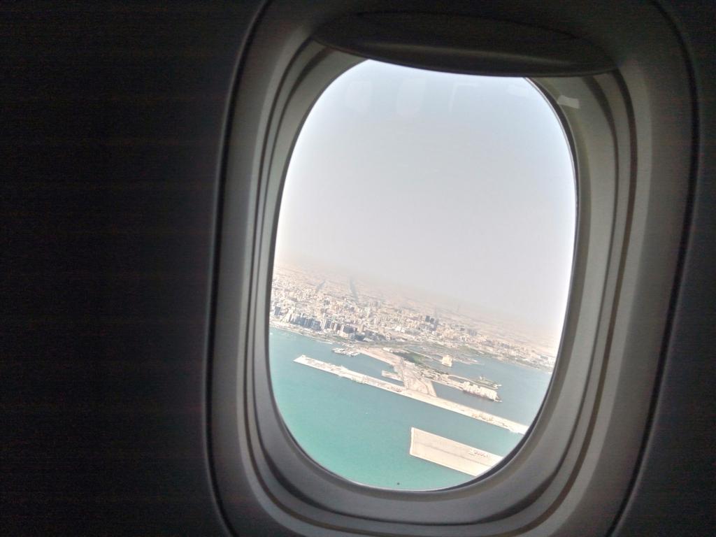 カタール航空-ビジネスクラス-ドバイ