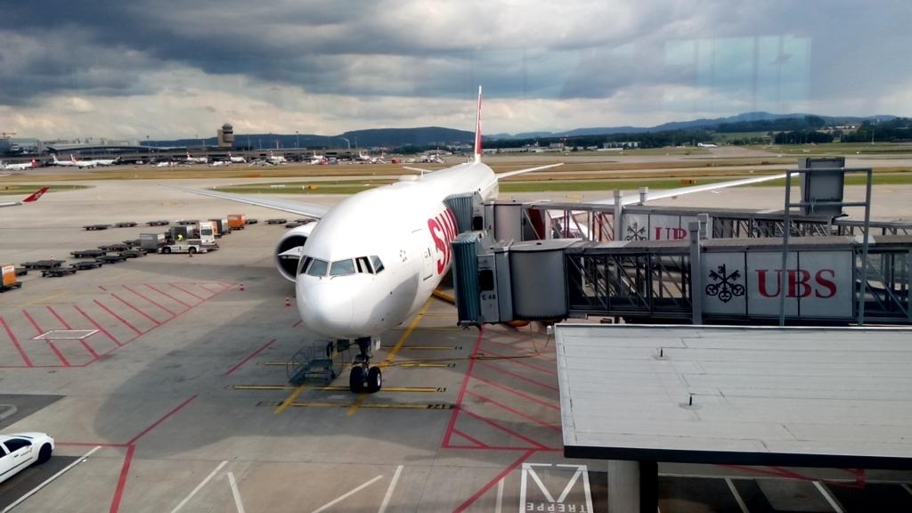 スイス航空-B773ER