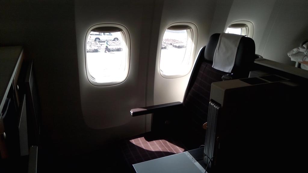 スイス航空-ビジネスクラス-シート