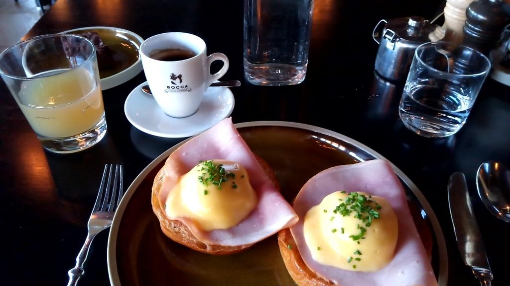 アムステルダム_ホテル V フィゾーストラート_朝食
