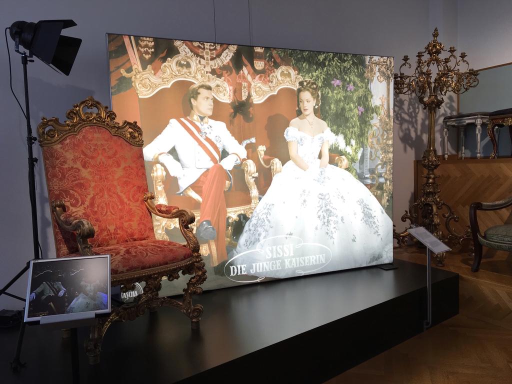 ウィーン-宮廷家具博物館-シシィ-映画