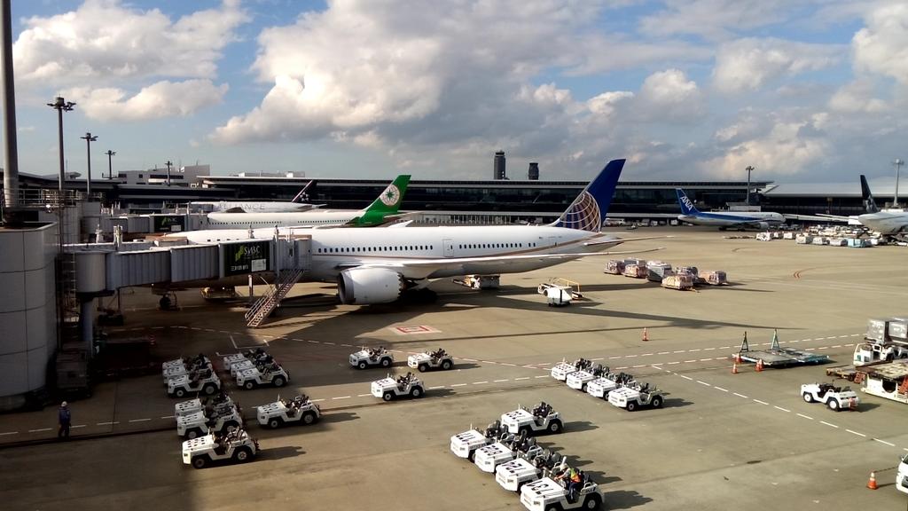 成田空港-スターアライアンス
