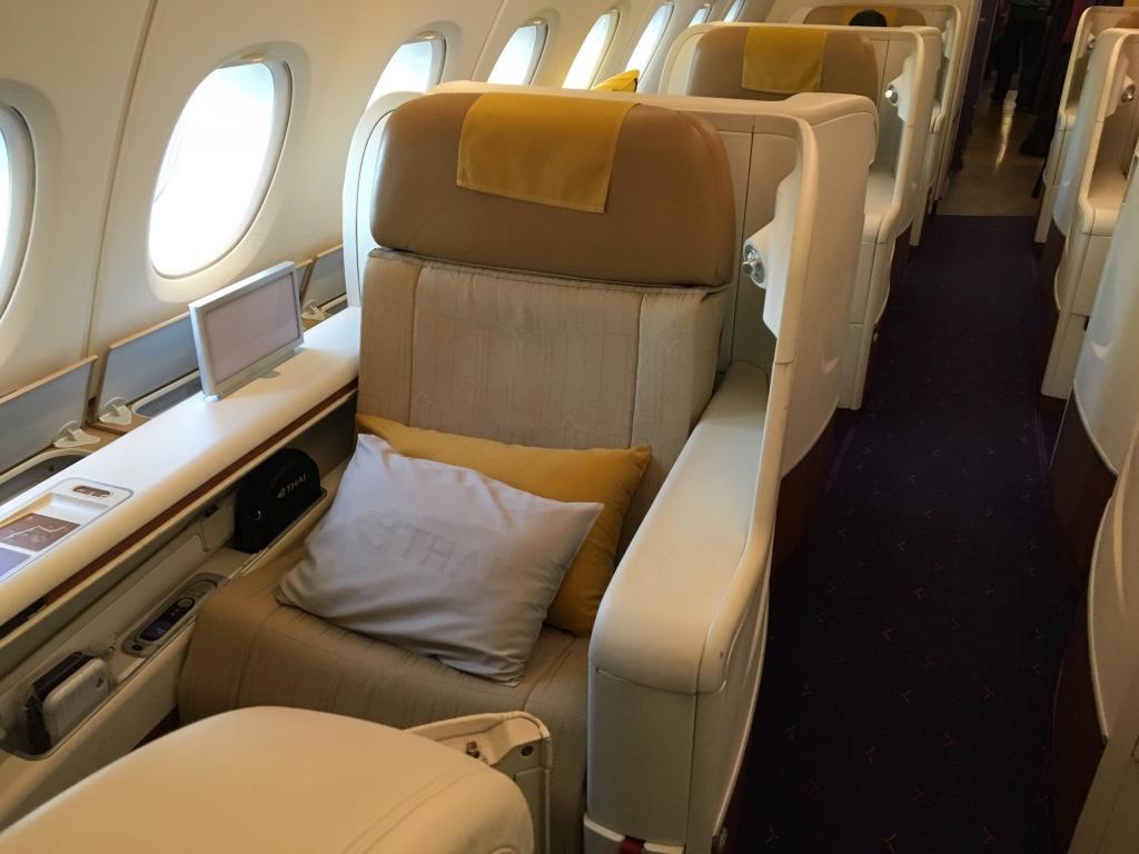 タイ国際航空-A380-ロイヤルファースト-シート