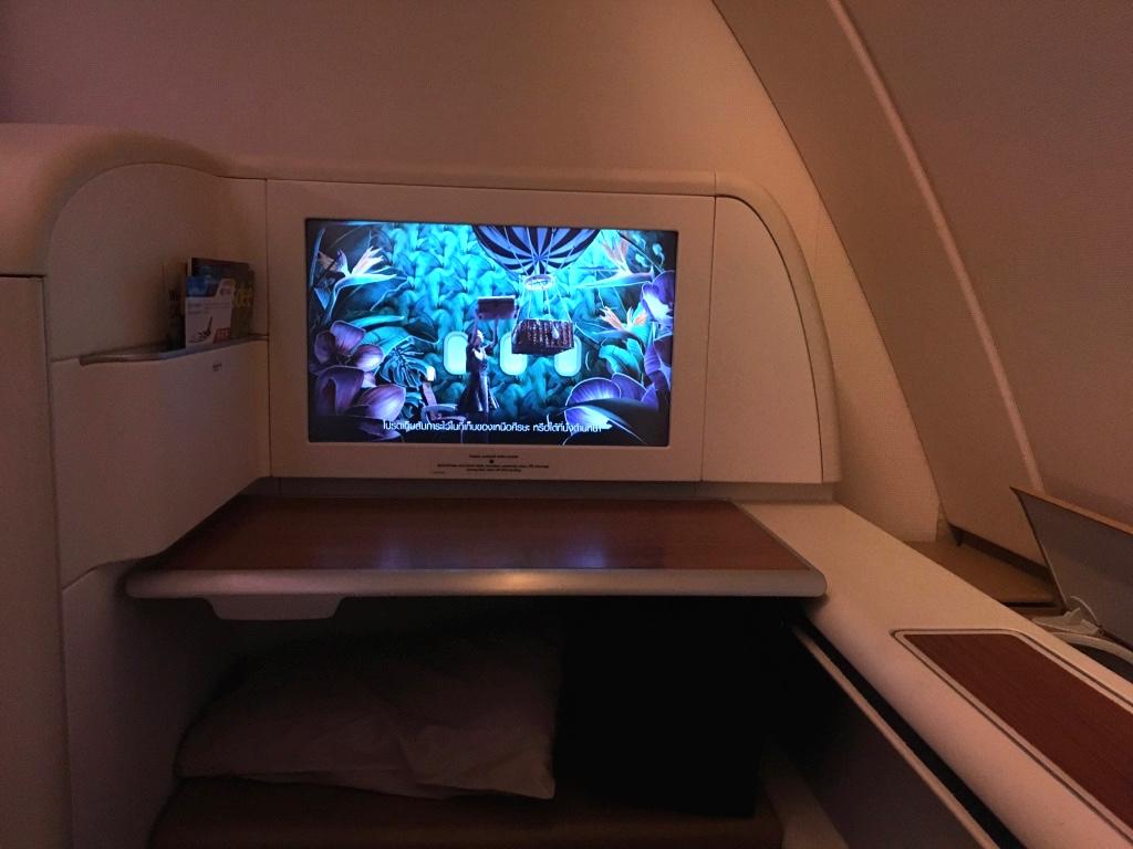 タイ国際航空-機内安全ビデオ