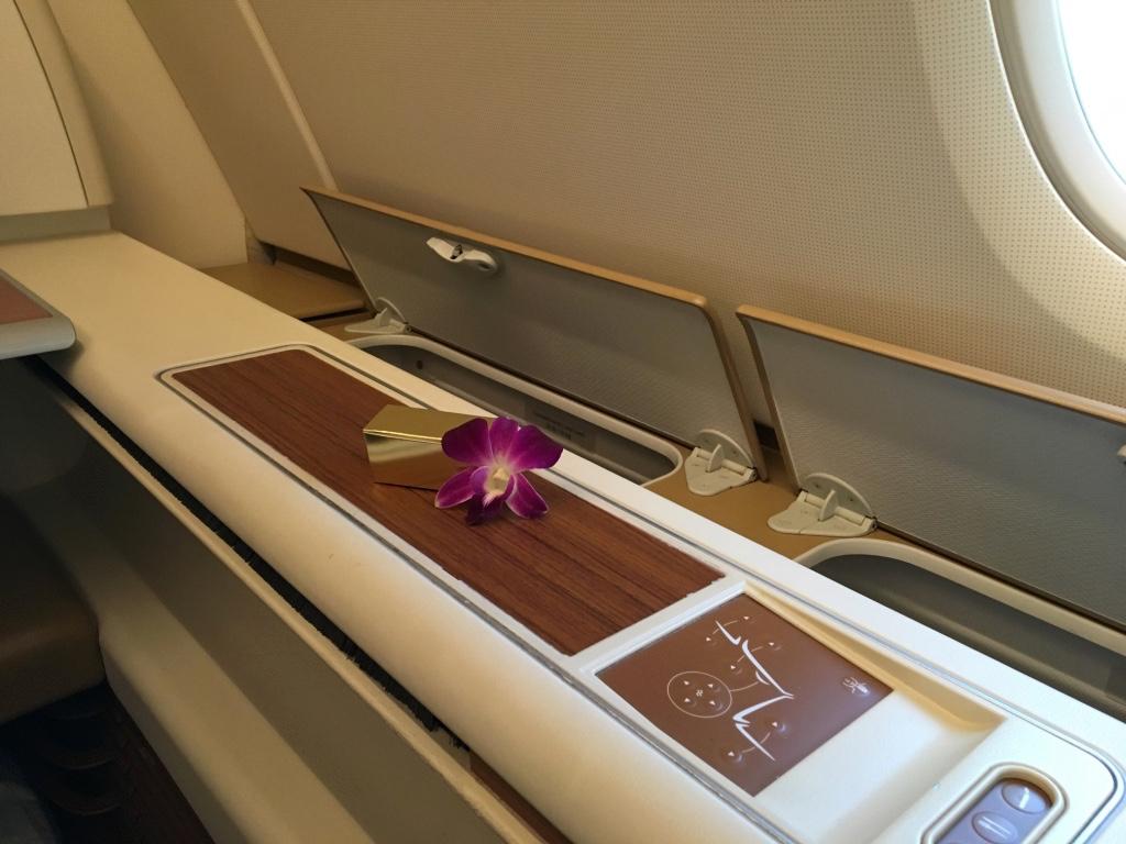 タイ国際航空-ファーストクラス-チョコレート
