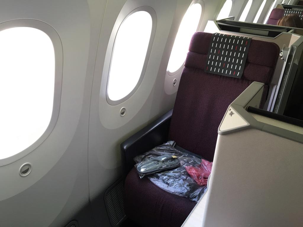 JAL-ビジネスクラス-シート