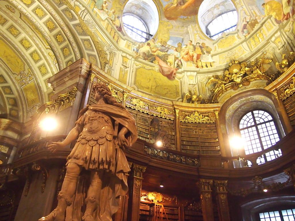ウィーン-オーストリア国立図書館