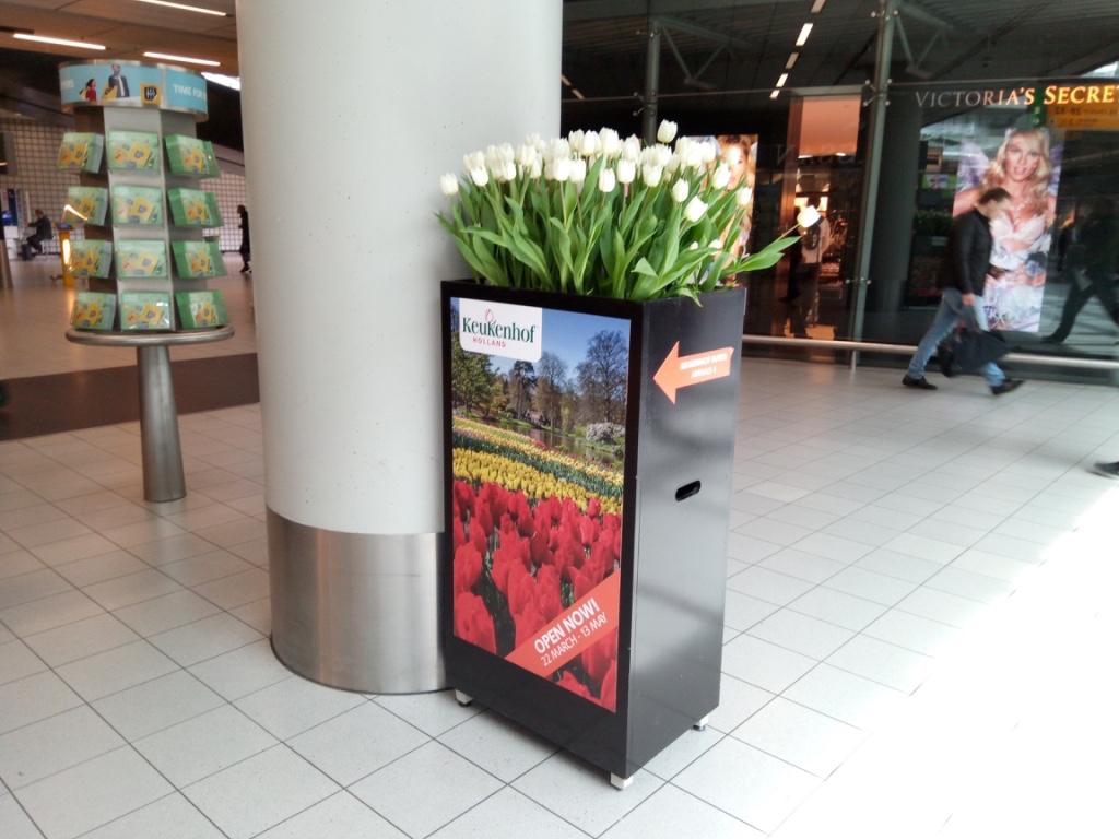 キューケンホフ公園-空港