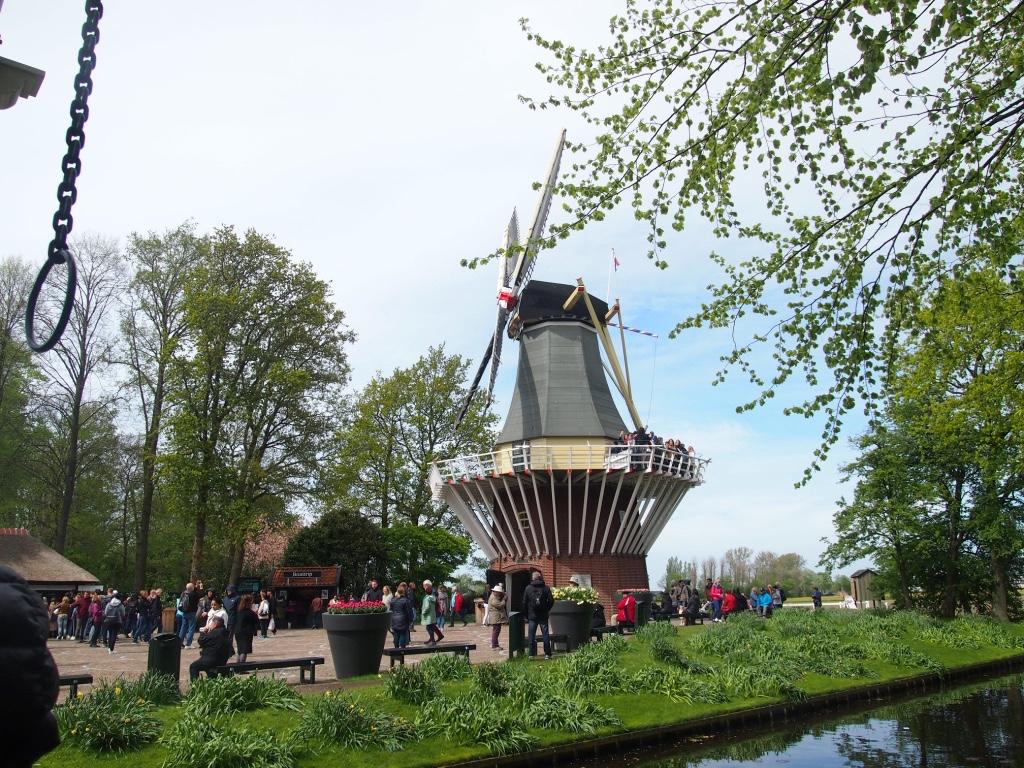 キューケンホフ公園-風車