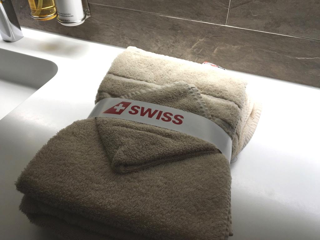 スイス航空-チューリッヒ-シャワールーム