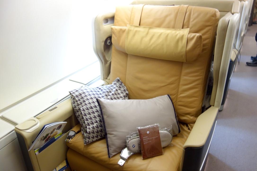 シンガポール航空-A380-ビジネスクラス