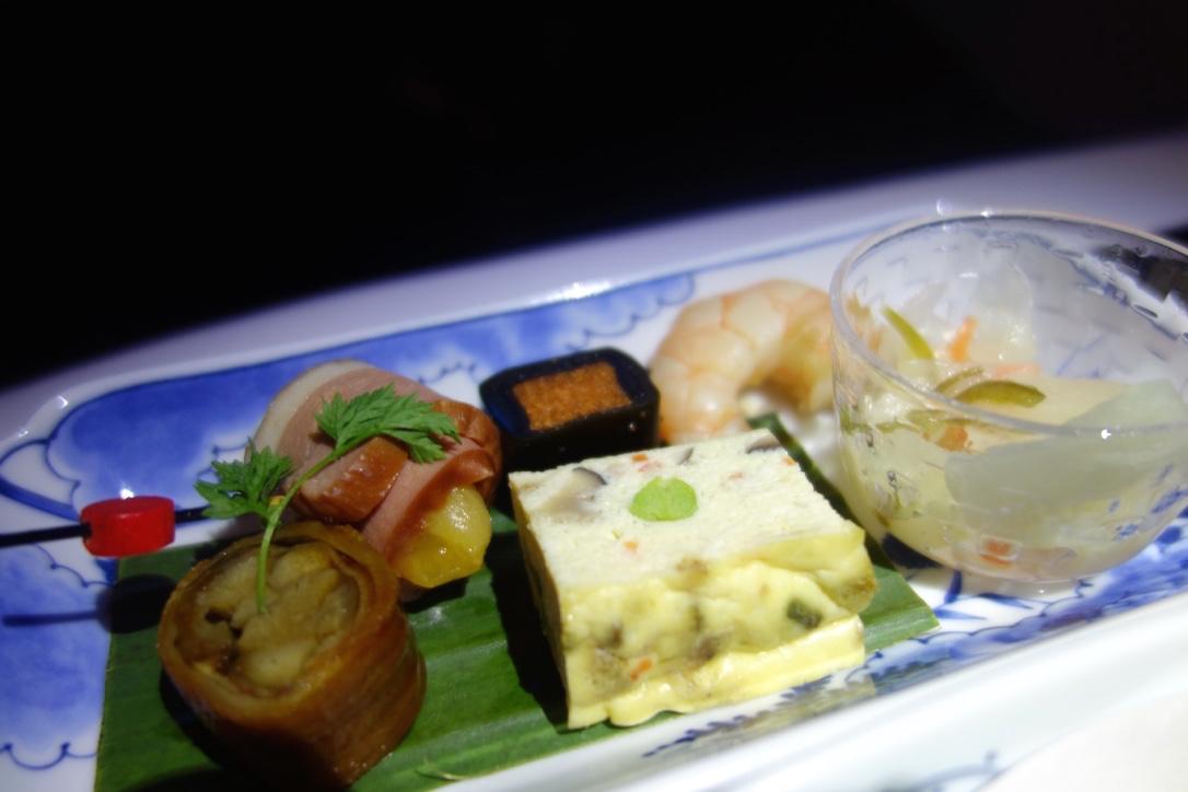 ANA-ビジネスクラス-機内食