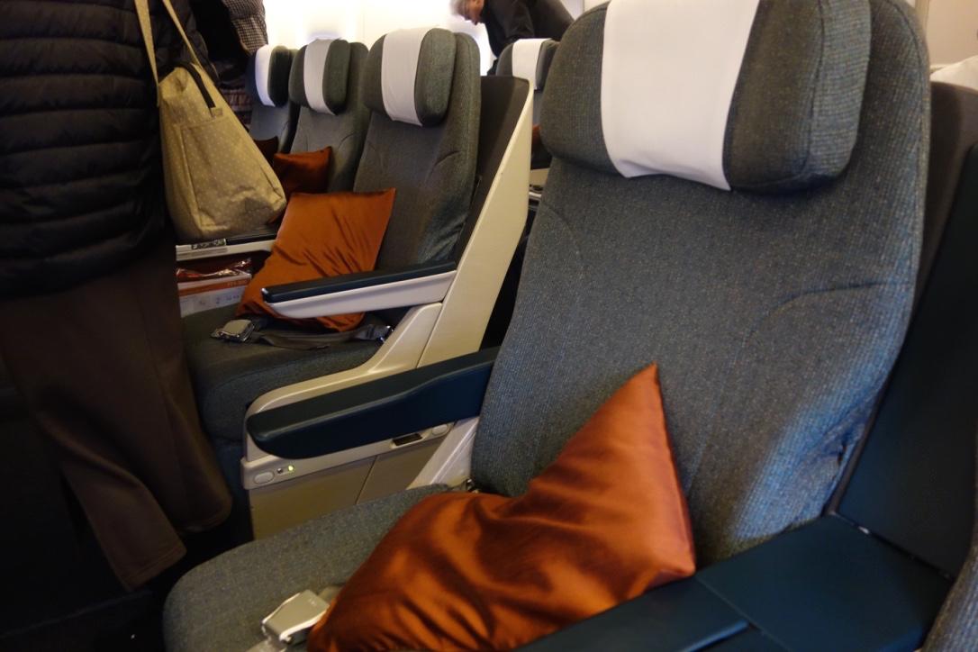 キャセイパシフィック航空-ビジネスクラス