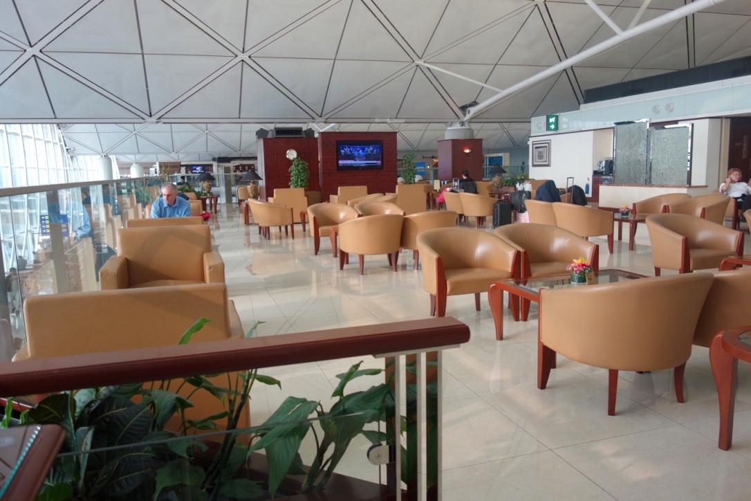 香港空港-エミレーツラウンジ