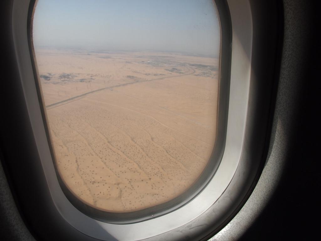エジプト航空 -機窓から