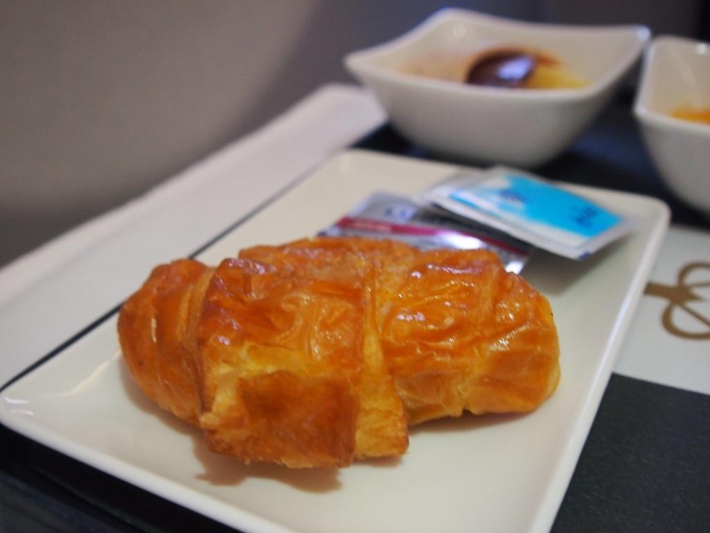 エジプト航空-ビジネスクラス-機内食-朝食