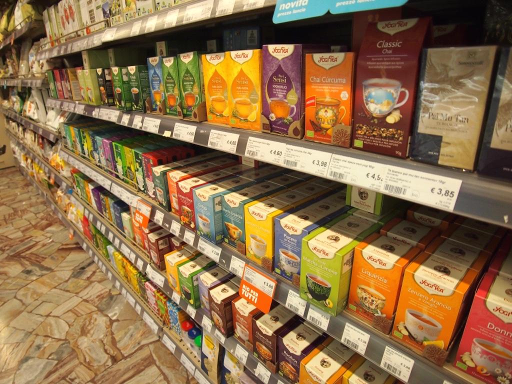 ミラノ-スーパー-紅茶