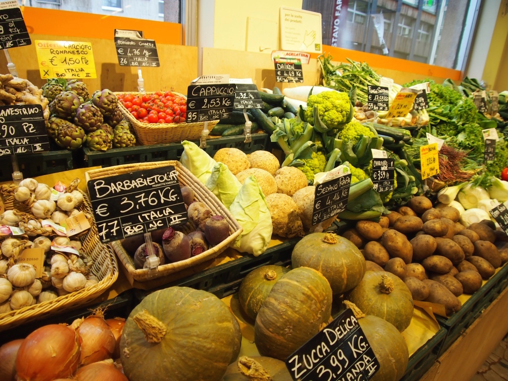 ミラノ-スーパー-野菜