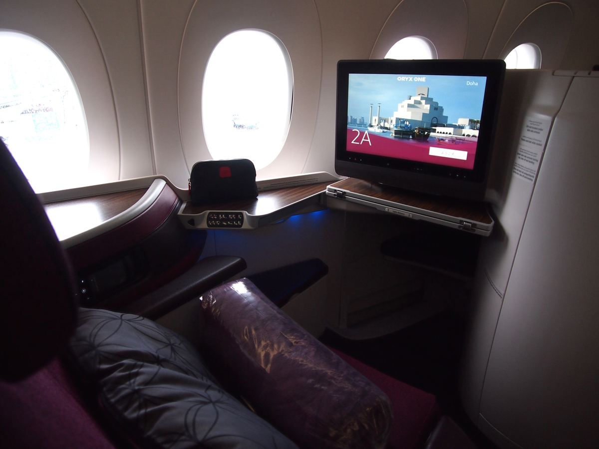 カタール航空-ビジネスクラス