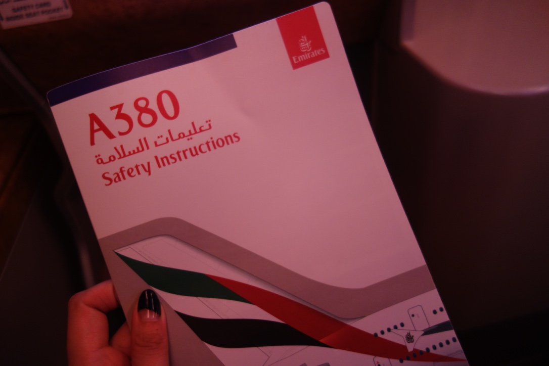エミレーツ航空_ビジネスクラス_A380