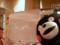 くまモンが描いたくまモン(右)