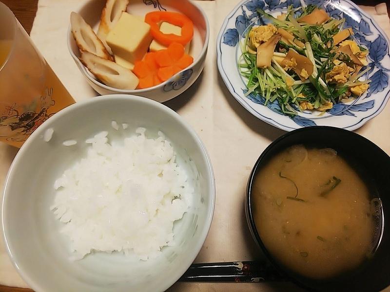 レンコン 味噌汁