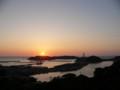 ゆうひパーク浜田からの夕景_2