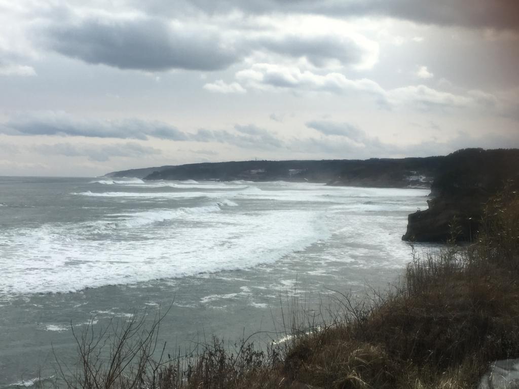 東北エモーションから海岸風景
