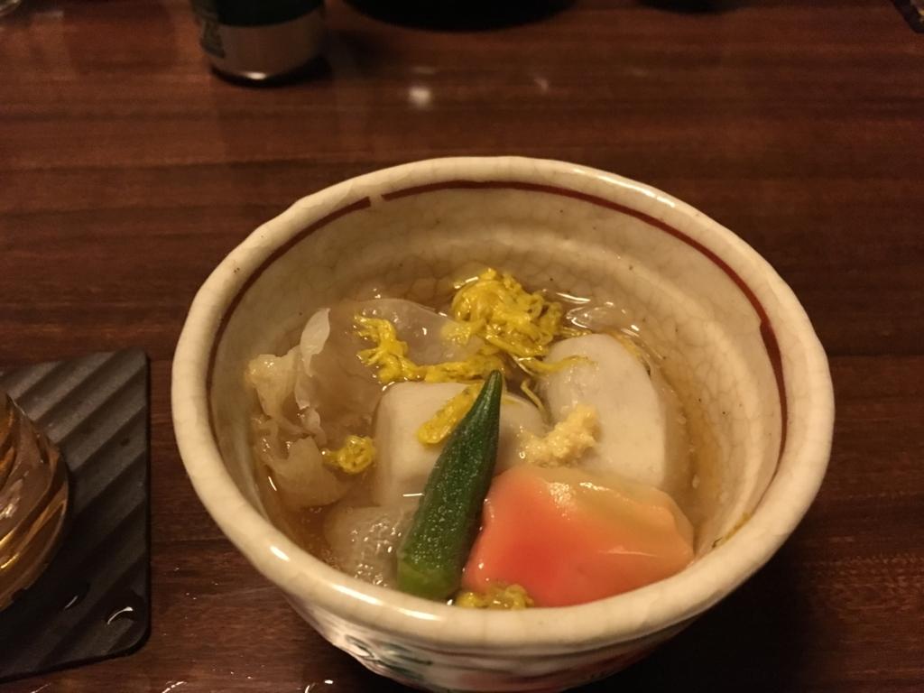 紀伊乃国屋 別亭 海老芋と里芋の炊き合せ
