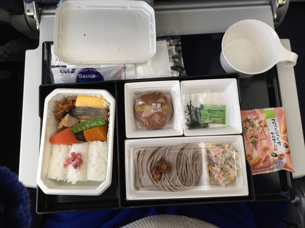 成田-上海 全日空 NH919 エコノミー機内食