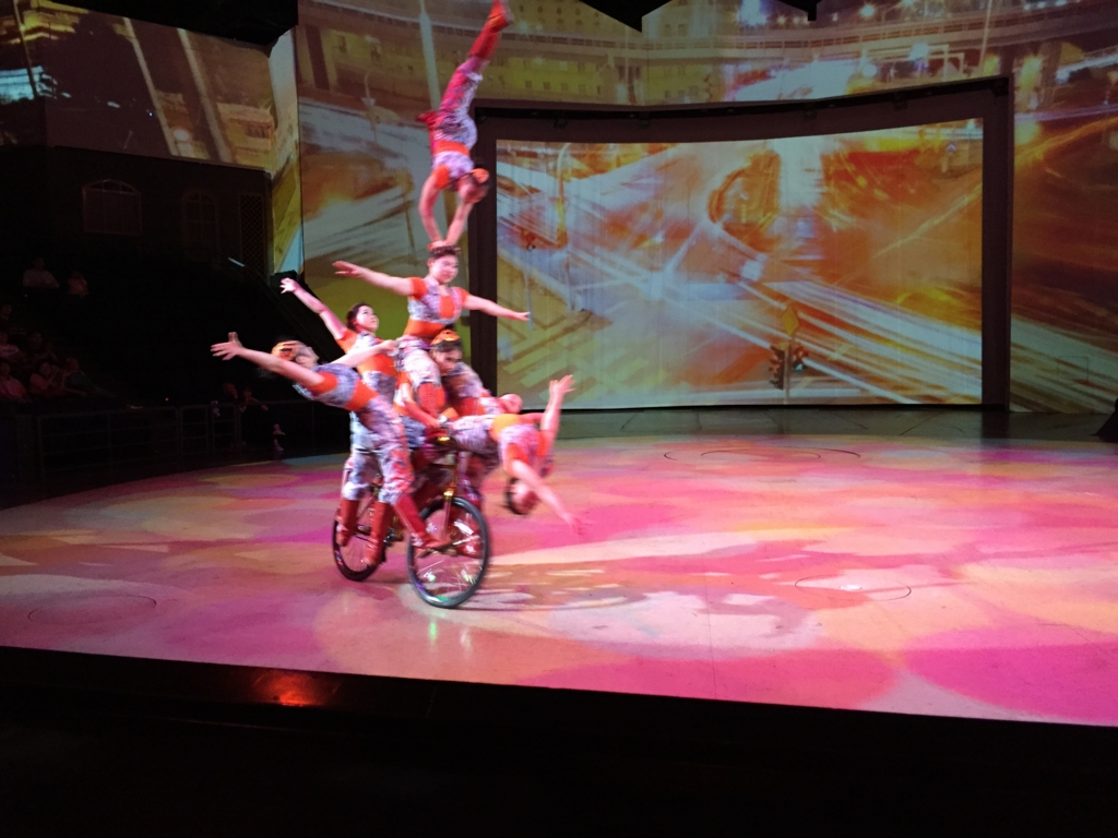 ERA 時空の旅 自転車曲芸