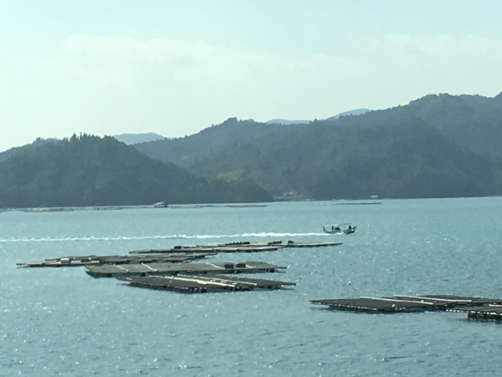 瀬戸内マリンビュー 窓からの景色 海