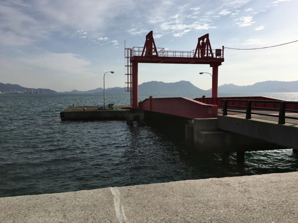 大久野島 うさぎ島 第2桟橋