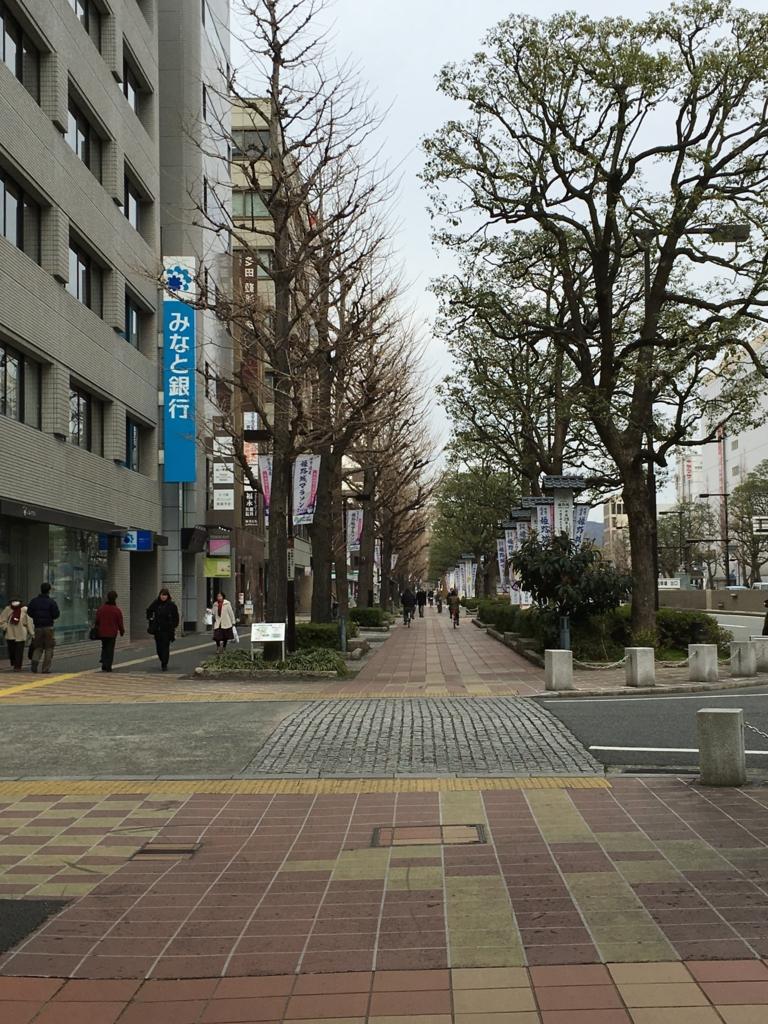 姫路駅から姫路城への歩道