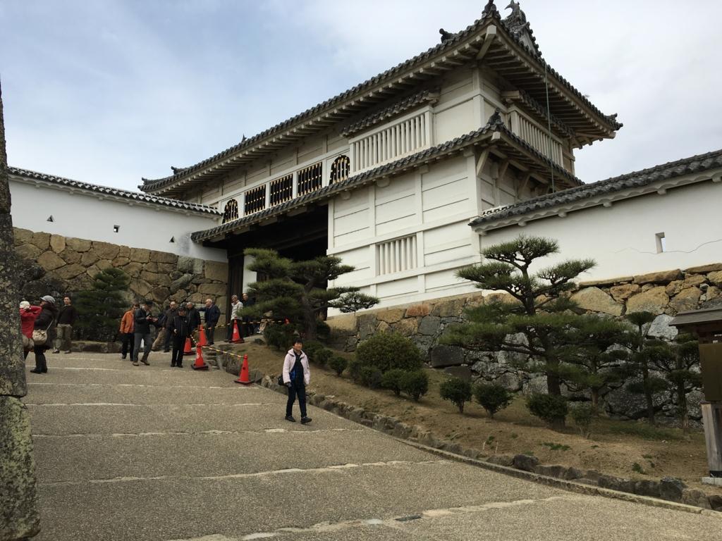 姫路城 入り口
