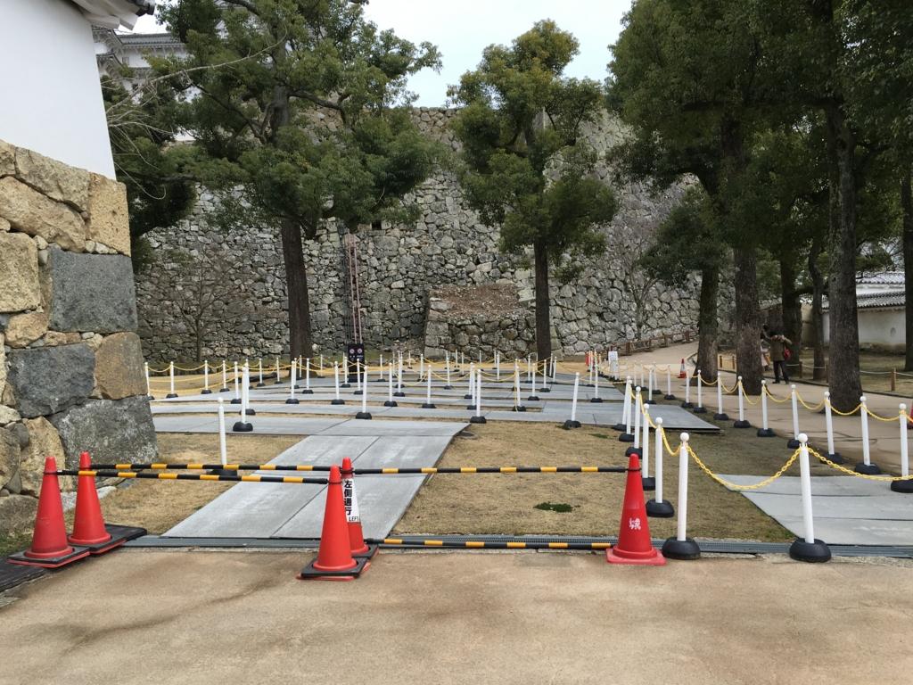 姫路城 観光客 入場 整列場所