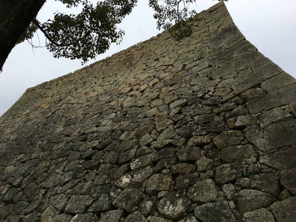 姫路城 一番きれいな石垣