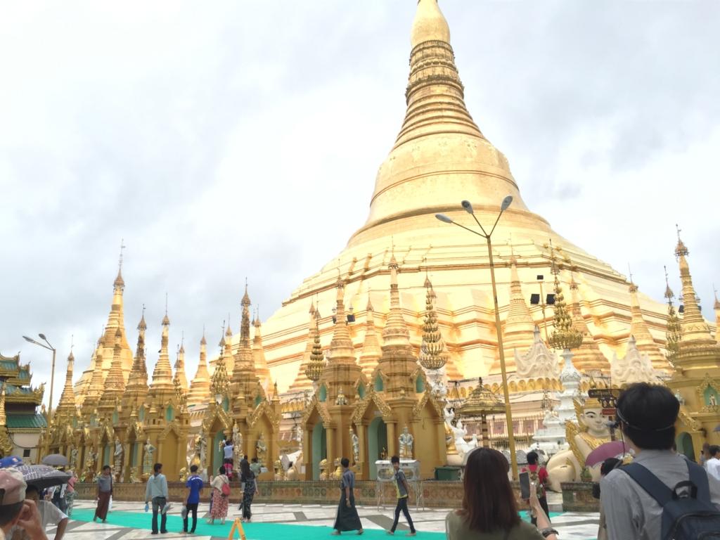 ミャンマー シュエダゴン・バゴダ 一番高い塔