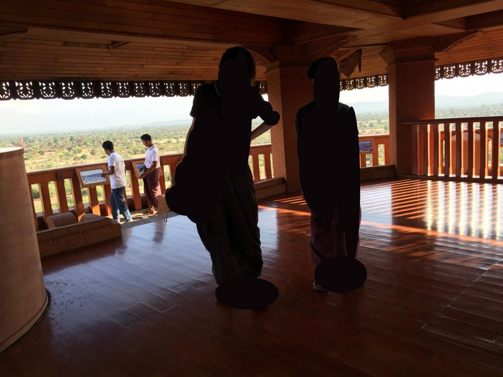 ミャンマー バガンビュータワー 展望台