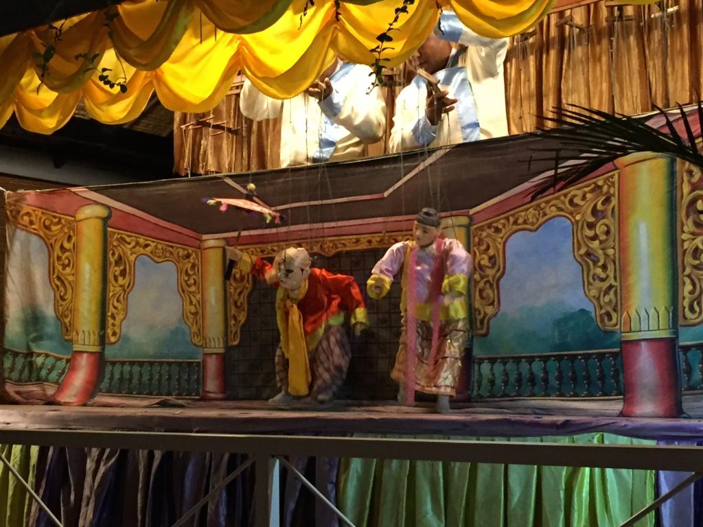 ミャンマーバガン 操り人形劇