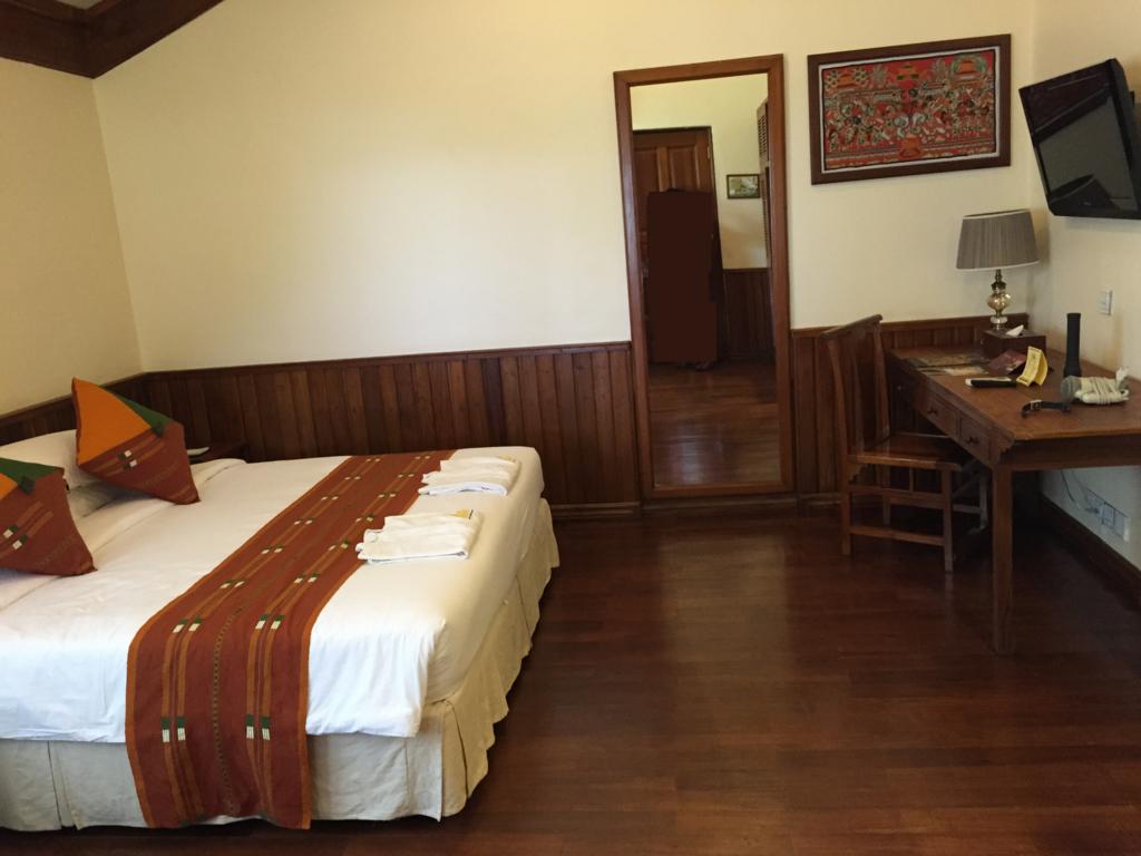 ミャンマー バガン ティリビセヤ・サンクチュアリー・リゾート ホテル 部屋