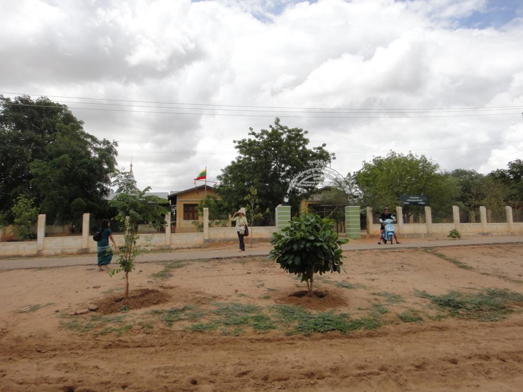 ミャンマー バガン 小学校