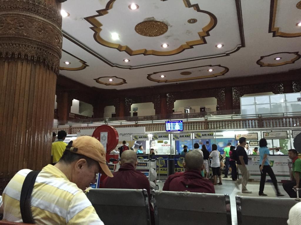 ミャンマー ヤンゴン 空港