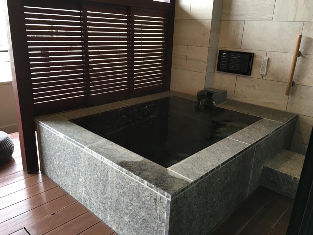 シーサイドリゾート ゆうみ 部屋の露天風呂